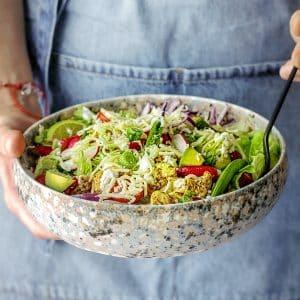 Cocina Libre Saludable. Ensaladas y Aderezos Espectaculares